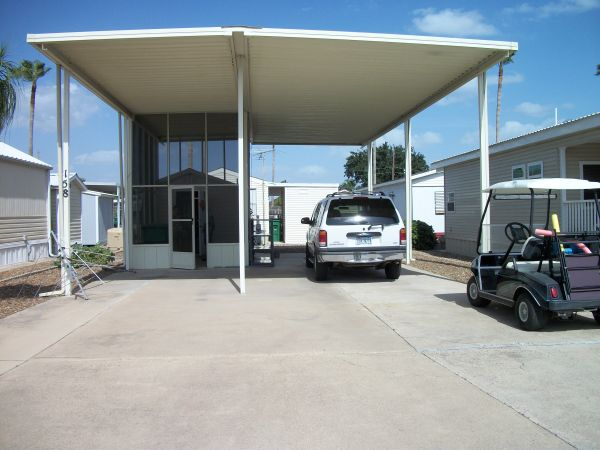 Great Covered Lot for RV in 55 Park- All resident owned - $36000 (Pharr South Park)