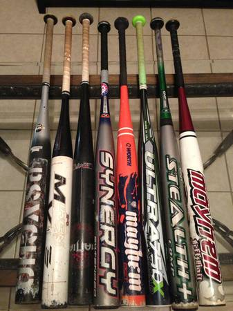 Softball Bats and Gloves (Mcallen)