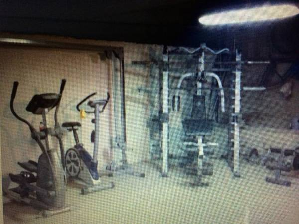 Gym equipment - $800 (Rgc)