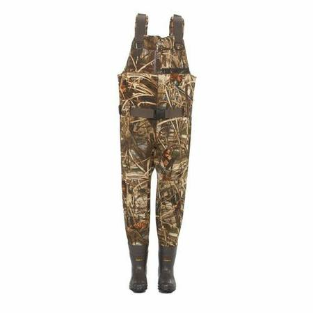 Game Winner Hybrid 800 neoprene camo chest waders size 10 - $75 (North McAllen)