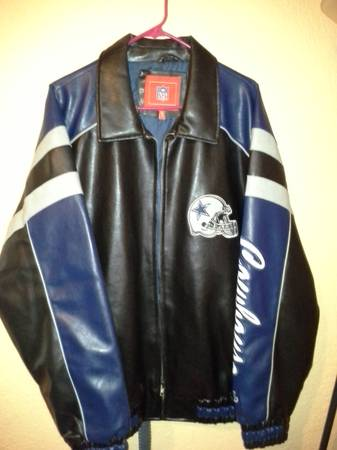 Selling NewNFL Dallas Cowboys Authentic leather Jacket - $70 (pharr tx)