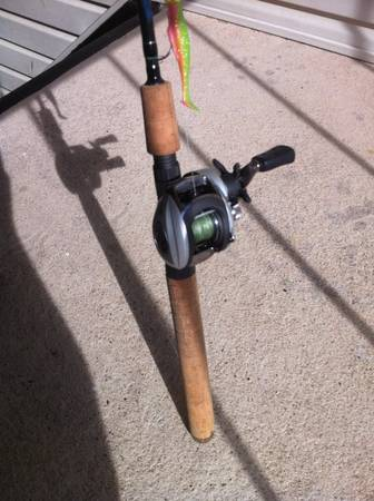 Falcon Coastal xg rod and Abu Garcia silvermax 2 for sale (Rgv)