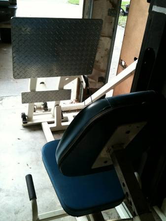 quantum leg press seated row multi hip all $1500 - $1500 (edinburg)