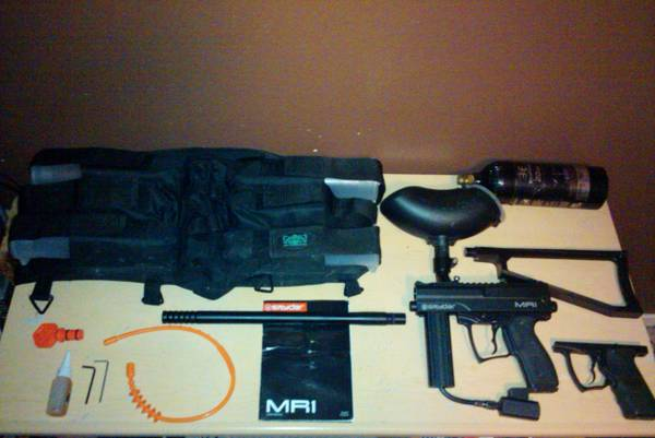 (Used) Spyder MR1 Paintball Gun Combo Pack E-Trigger (Limited Time) - $115 (In McAllen, Edinburg, Harlingen areas)