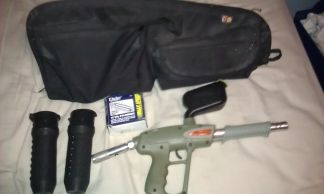 paintball gun bundle - $50 (edinburg)