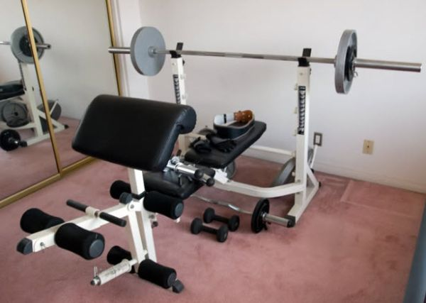IMPEX Powerhouse 740 Home Gym Fitness Center Weights Bench - $150 (Sharyland Plantation, Mission)