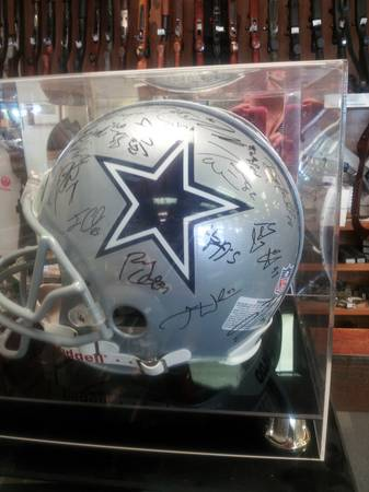 Dallas Cowboys Helmet - $5 (Donna)