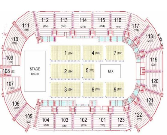 Zac Brown March 1st Row G or 7 Floor 2 - $225 (will ship 2 day FedEx (included))