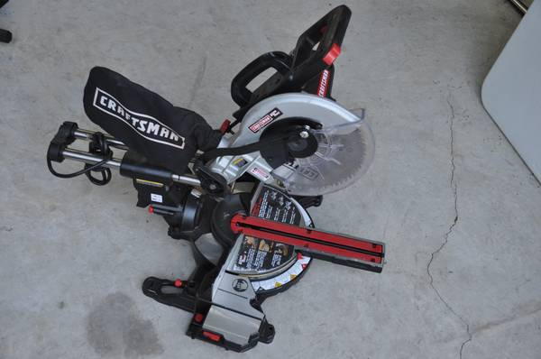 craftman mitter saw laser trac sliding compound - $160 (rgv)