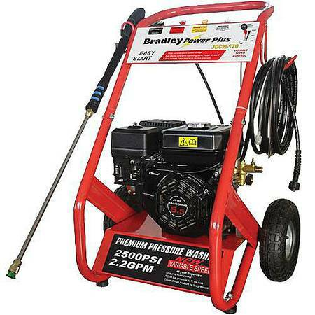 bradley power plus pressure washer 2400 psi - $149 (san juan)