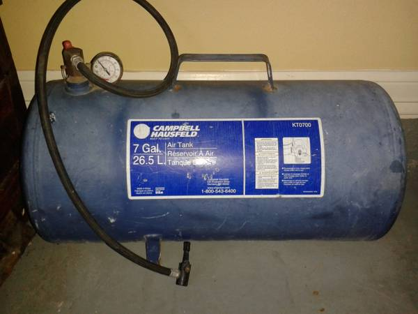 Cbell Hausfeld 7 Gallon Air Tank - $30 (Edinburg)