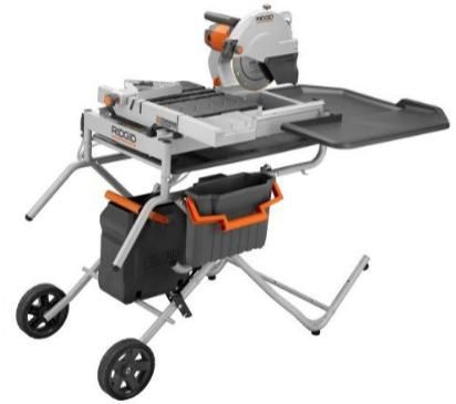 10 in. Portable Tile Saw with Laser.....Brand NEW - $450 (Mission)