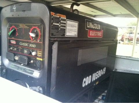 2008 Lincoln classic 300d welderwelding machine pipeline - $9500 (South east Houston)