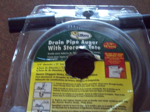 Drain Pipe Auger - $15 (Mission)