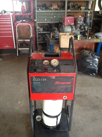 snap on ac recovery machine - $750 (mcallen)