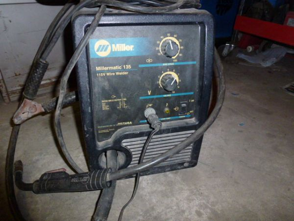 Miller Millermatic 135 mig welding machine - $450 (pharr)