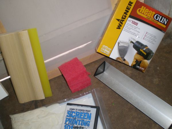 Ryonet Screen Printing Start up kit. - $150 (Brownsville)