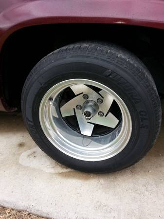 15x10 rims and tires - $280 (weslaco)