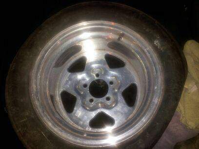 15x10 Centerline Telstars 5 Lug - $175 (harlingen)