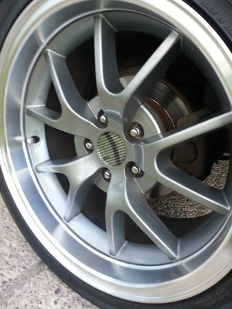 mustang fr500s deep dish 18s rims only newwww - $550 (weslaco)