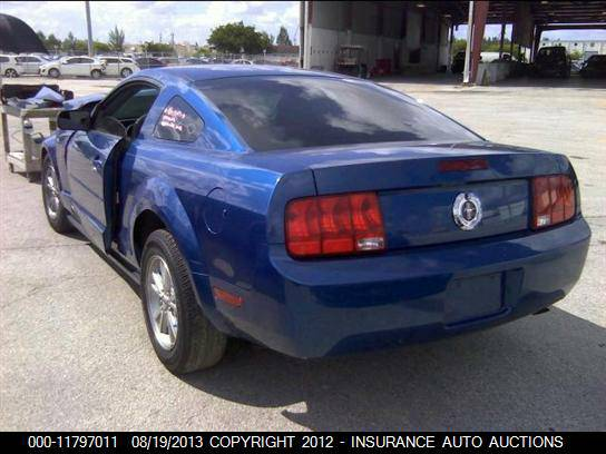 2008 FORD MUSTANG FOR PARTS ONLY (MCALLEN TX )