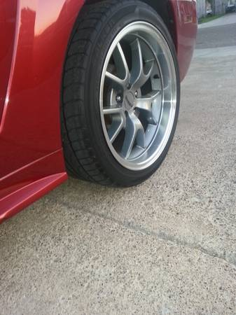 last weekend for these mustang fr500s rims 18s with tires new deep dis - $850 (weslaco)