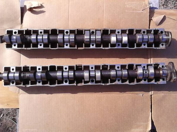 BMW E36 M50 Vanos Camshafts with Trays - $100 (Mission)