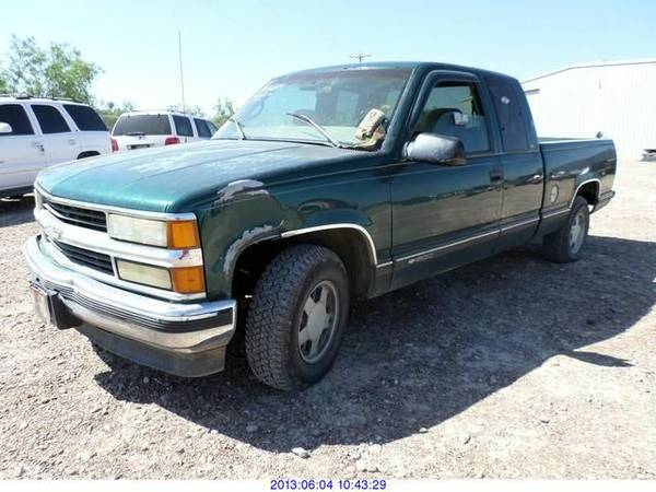 1998 CHEVY SILVERADO FOR PARTS ONLY (MCALLEN TX )