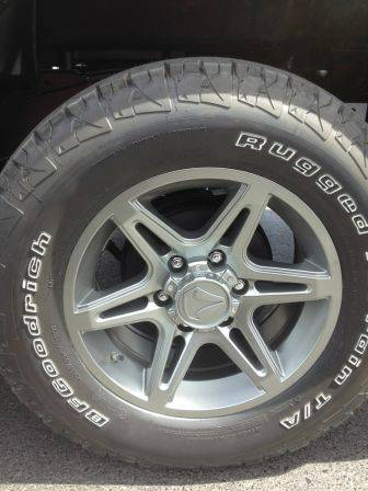 New Toyota Tacoma Rims and Tires - $1000 (Mission, Texas)