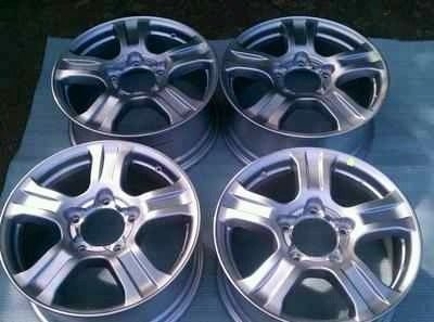 2007 2008 2009 2010 2011 2012 2013 Toyota sequoia 18 factory rims wheel set - $300 (Pharr)