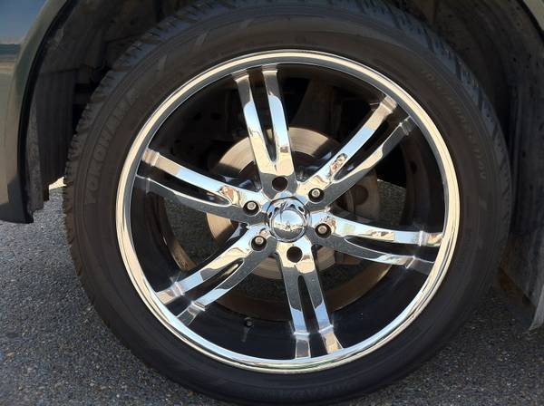 22 Rims with Tires - $600