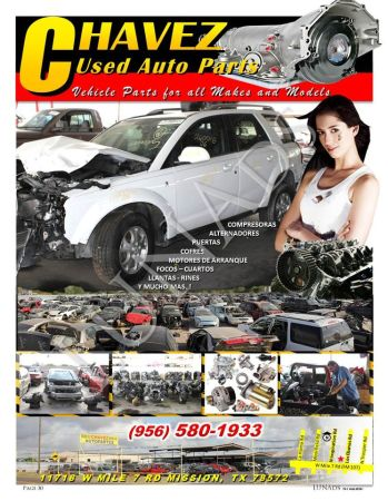 CHAVEZ USED AUTO PARTS 956-580-1933 (MISSION)