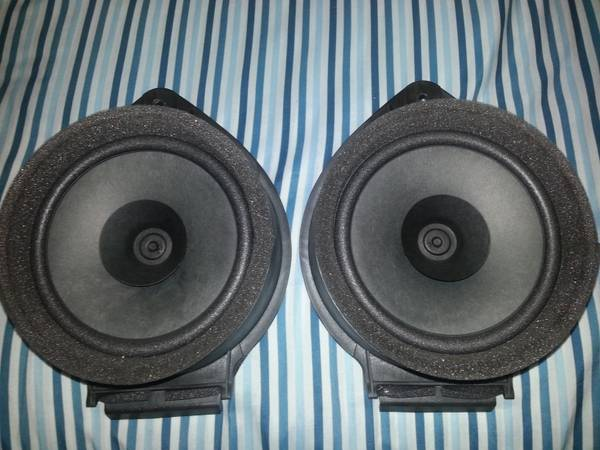 speakers for gmc sierra - $40 (Edinburg)
