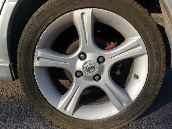 2003 Nissan Sentra Rims 17s with new tires... - $250 (brownsville)