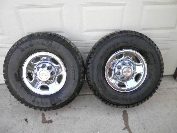 2003 Chevy HD 8 lug rims - $300 (PharrTX)