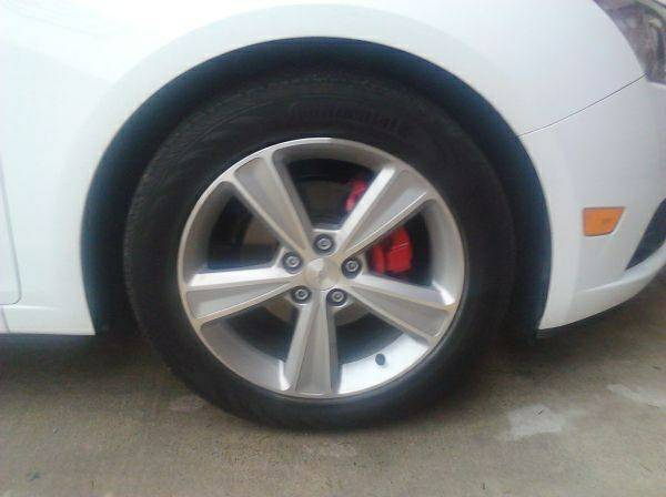 Chevy Cruze OEM rims 17 - $1300 (Edinburg)
