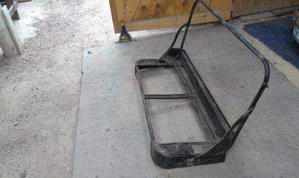 1948-1954 Chevy Truck Origional Bench Frame n Seat Cheap (valley)