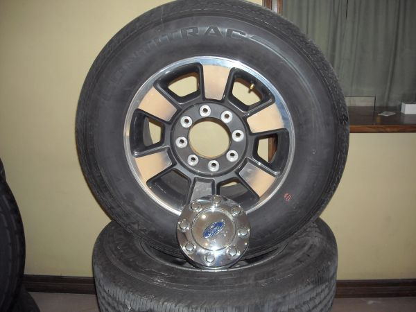 1999-2013 FORD F250 RIMS AND TIRES (MCALLEN TX)