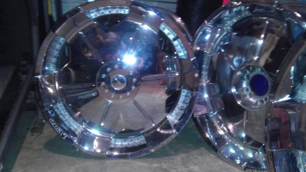 24 rims for sale se venden rines 24 - $550 (mcallen)