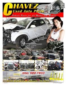 CHAVEZ USED AUTO PARTS 580-1933 (MISSION)
