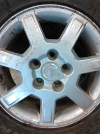 cts cadillac oem wheels - $200 (palmview )