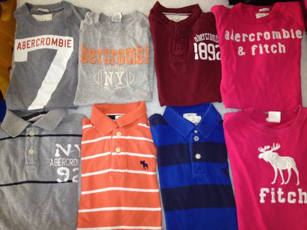 Abercrombie clothing for boys (McAllen )