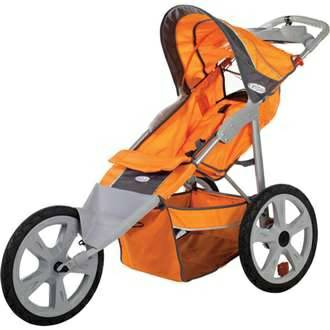 InSTEP Flash Fixed Wheel Jogger Single Stroller - $70 (north mcallen)