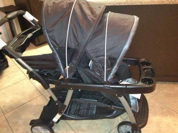 50 OFF GRACO READY2GROW LX DOUBLE STROLER ---NUEVABRAND NEW - $100 (Pharr)