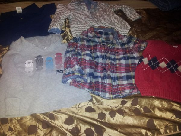 Lot of boys 18 month clothes - $10 (Mission)