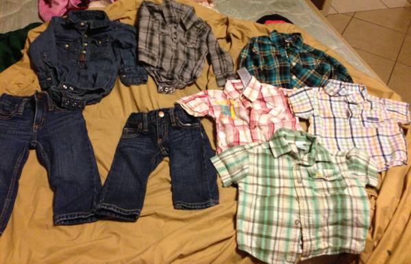 BABY CLOTHE - $60 (MISSION)
