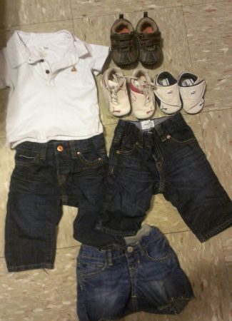 baby gap boy jeans and shoes (pharr,tx)
