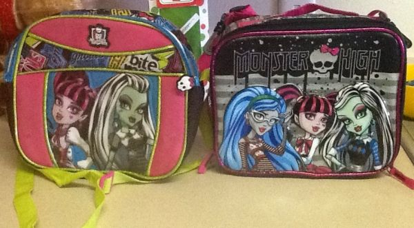 Lonch box lonchera monster high - $25 (Mcallen)