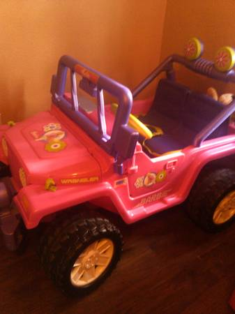 Barbie Jeep Wrangler Power Wheel - $175 (McallenMission)