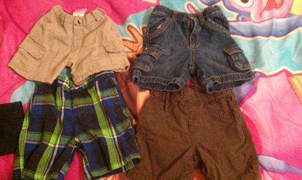 SHORT LOT FOR BABY BOY SZ 12-18 MO - $10 (PHARR)